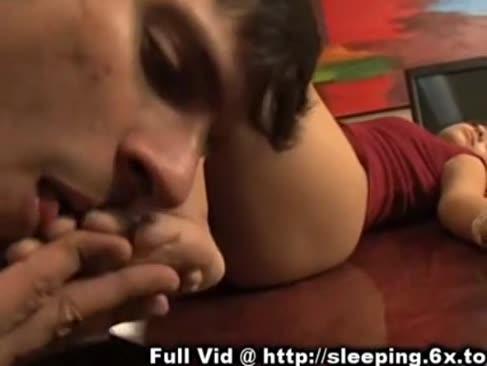 Sleep alunecare - angel audrianna dezbrăcat și jucat cu