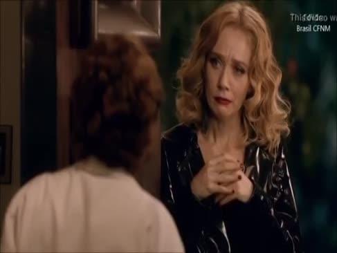 Femeia dominantă provocando-o tongued acabar com ele