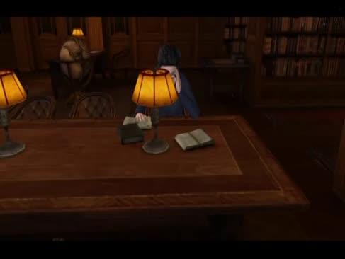 Harry potter 3d pornografie-bang animate - noapte liniștită la bibliotecă
