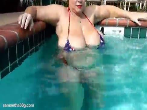 Bbw sex industria de stele samantha 38g joacă cu jgheri phat în piscină