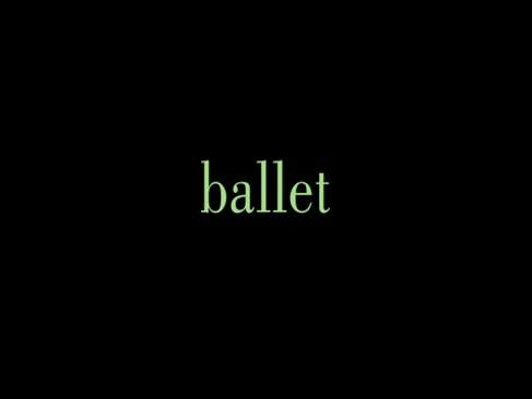 Claire adams pradă balet