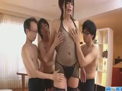 Super-drăguț adolescent chinez străin 4some